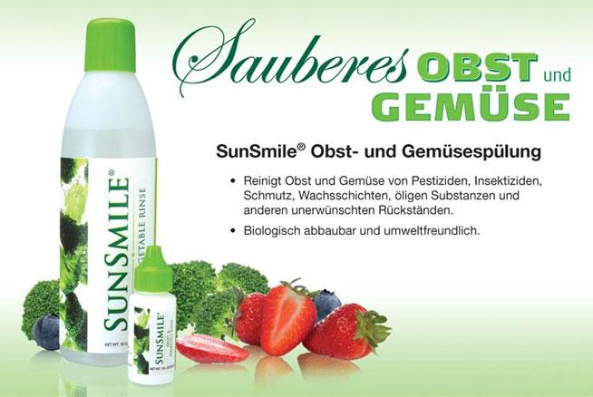 Sunrider SunSmile Obst- und Gemüsespülung
